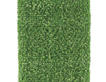 Grass rug accent for a special event